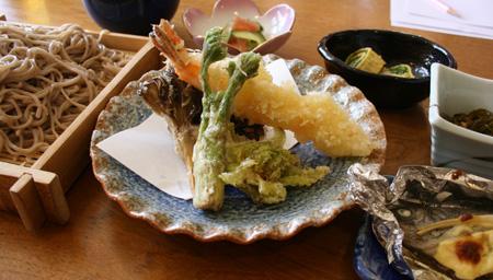100316_民宿みちのく様_春の天ぷらランチ