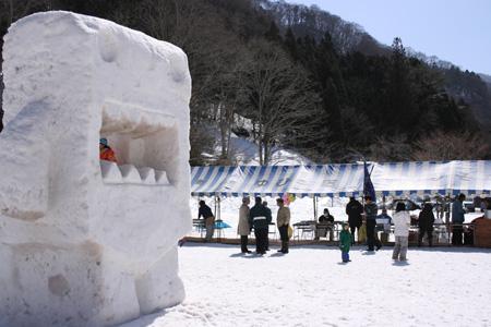 100316_湯檜曽雪像祭り