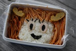 芭菜ちゃん弁当